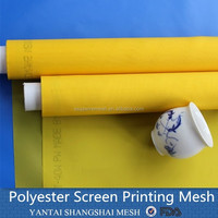 Polyester Printing Mesh High Density Printed Mesh Fabric for 3d glass