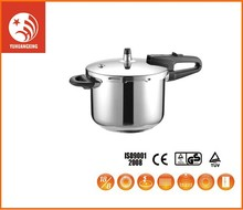 Black Stainless Steel Rice Gs French Low Pressure Cooker 18/8