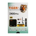 Cheap Tiger Z400 Pro Full HD Mini 4K Satellite Receiver with Sim Card Port and One Year Arabic IPTV