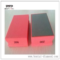 Electroplated Diamond Hand Pads for Angle grinder or other hand machine
