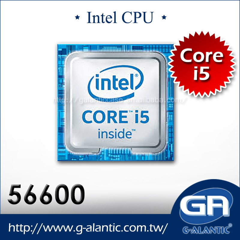 Latest Intel 6th Generation Processor Intel i5-6600 Skylake CPU with 65W TDP and 3.3GHz frequency