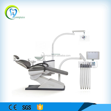 High quality dental unit with panoramic x-ray viewer and halogen lamp