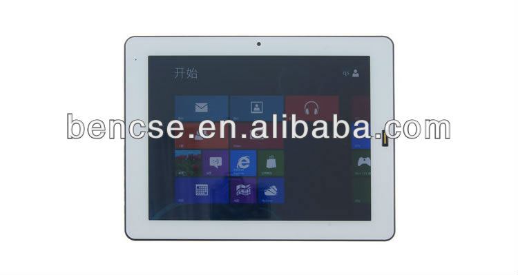9.7inch windows 8 Tablet PC with Intel N2600 1.6GHz