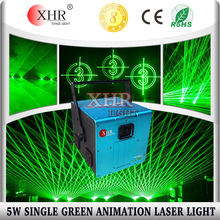 ILDA Laser 5000mw Green Laser Projection Words Adveritising Laser Show