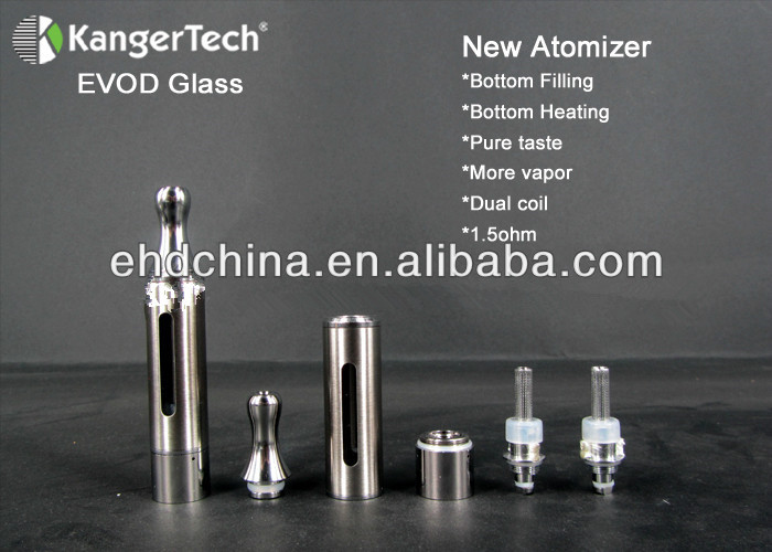 2014 Ho t Selling Original Kanger EVOD Glass atomizer