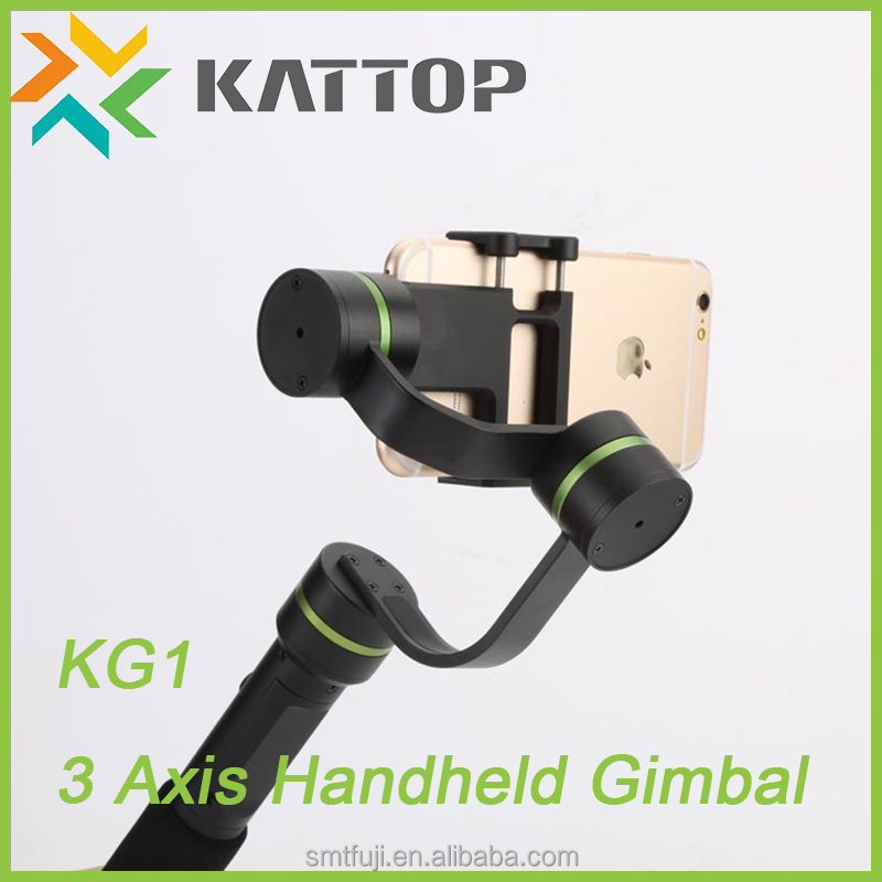 Kattop 2017 Trending Products 3 Axis Handheld KG1 Phone Stabilizer Smartphone Gimbal