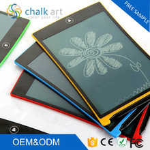 2017 high quality one-touch clear 8.5 inch boogie board lcd electronic writing tablet erasable pad
