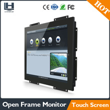 Good quality touch screen 15 inch sliver Aluminum open frame touch monitor