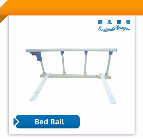 Metal Security Bed Rails For Elderly With 2 Belts