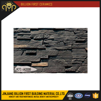 Dark color natural culture stone JCT-A006