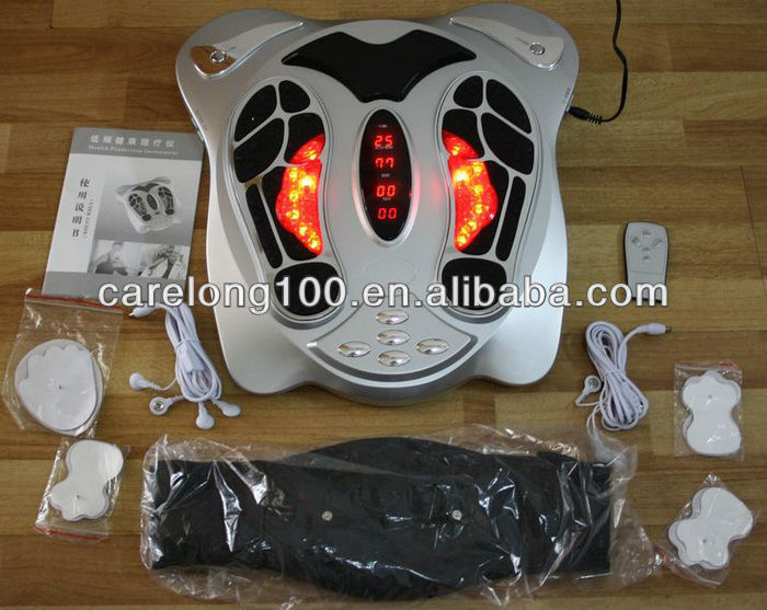 Electro muscle stimulator foot massager with CE, RoHS