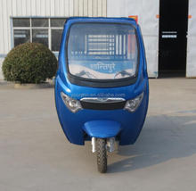 new model close cabin six-seater electric three wheel closed motorcycle