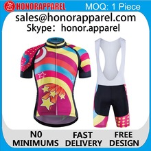 2016 wholesale clothing competitive price Hot selling and high quality quick dry colorful fit cycling jerseys