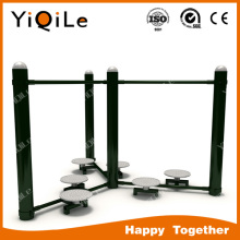 6 seats public exercise equipment healthy promoting fitness equipment for elderly