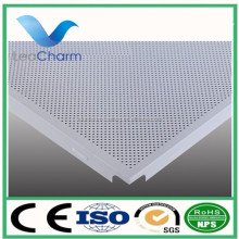 high quality A grade fireproof aluminum perforated ceiling tile cheap suspended ceiling sheet