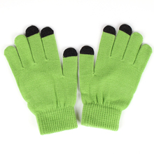 Cheap Fashional winter touch screen gloves,acrylic touch gloves