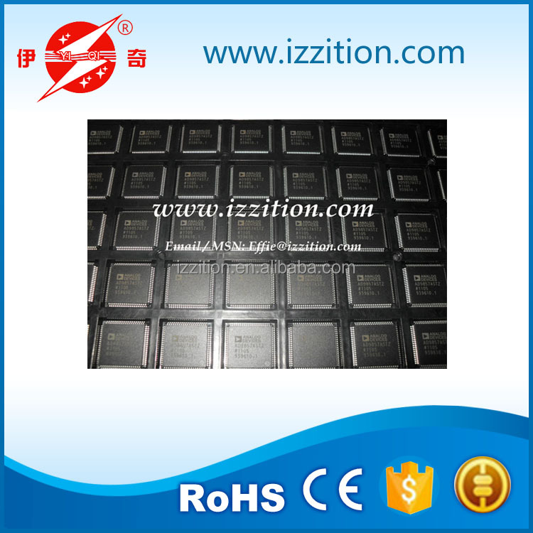 Integrated Circuits AD9857ASTZ IC QUADRATURE DGTL UPCONV 80LQFP New&Original/Low Price/RoHS Compliant/Hot Sale