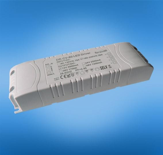 2.4G RF wireless dimmable 60W constant voltage 12v 24v 36v 48v led driver