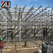 Guangzhou Hot dip Galvanized Construction Kwikstage Scaffolding for South America