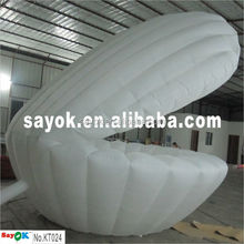 Stage/Party lighting decoration inflatable shell/inflatable seashell/inflatable cowry