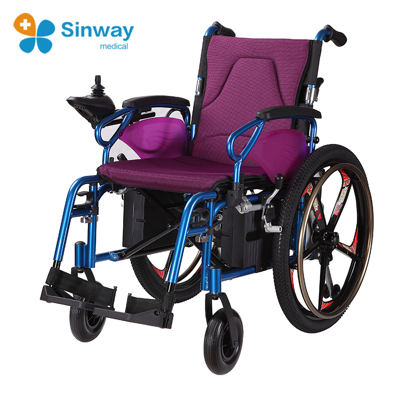 Manual Assist lightweight Power Wheelchair With Cheap Prices