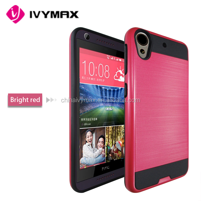 Dual layer phone case for htc desire 626s shockproof bumper case