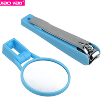 high quality stainless steel nail clippers magnifying glass clipper #4124