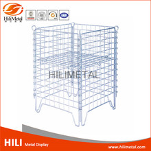Shawl rack wire display rack for supermarket