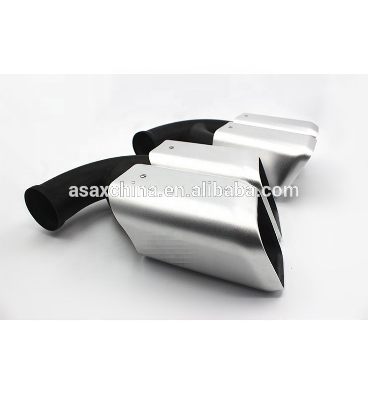 Turbo GTS 958 Sport V6 V8 Exhaust tips For Porsche Cayenne 11~14 years tail <strong>muffler</strong>