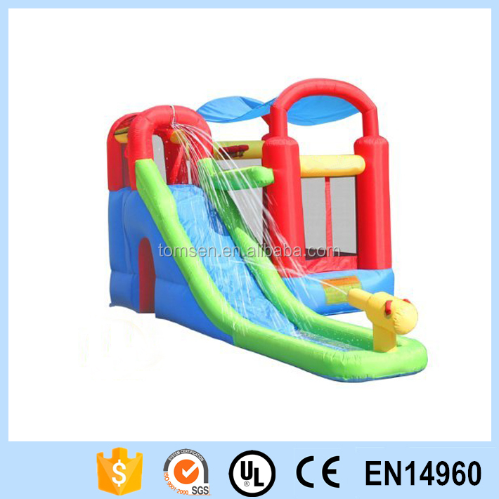 Inflatable Bounce House and Water Slide Wet or Dry Playstation/Inflatable Combo