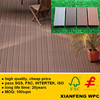 Cheapest Price Plastic Wood Composite Decking Sheet For Outdoor Floorings