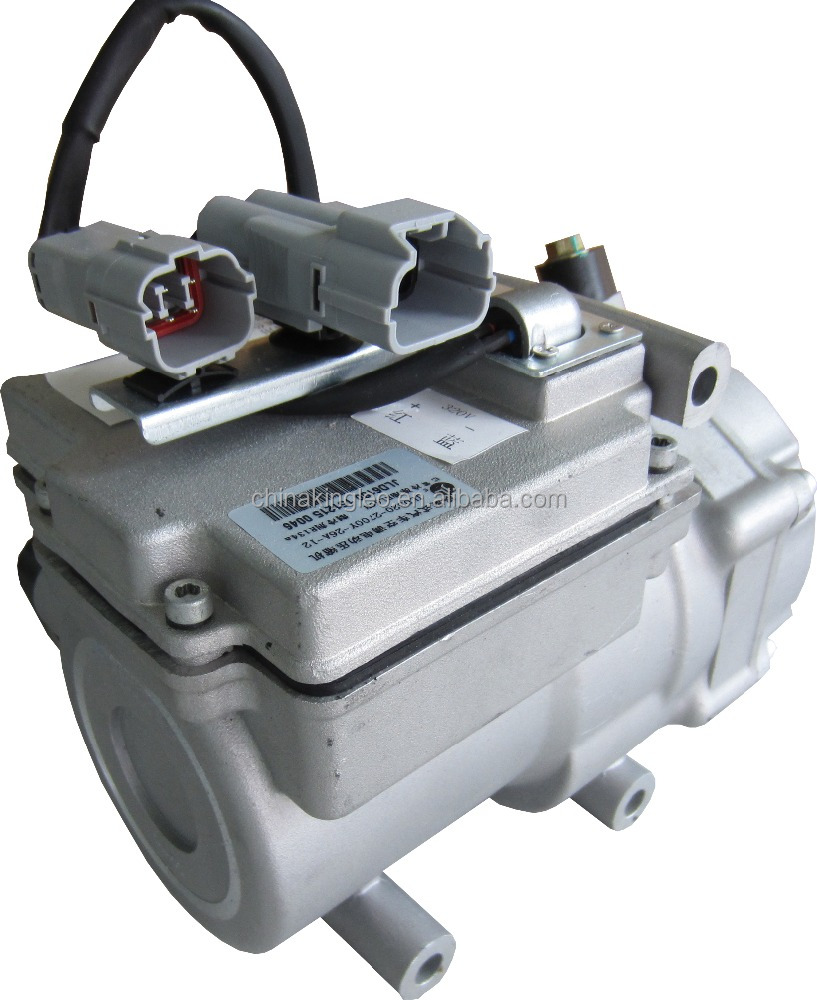 Electric truck bus brushless scroll dc compressor <strong>12v</strong> air conditioner