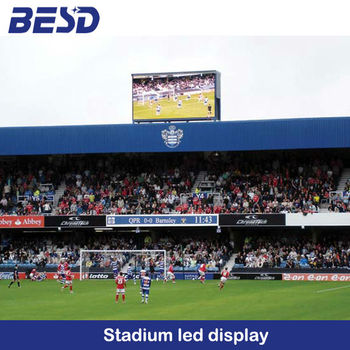 perimeter advertising led display