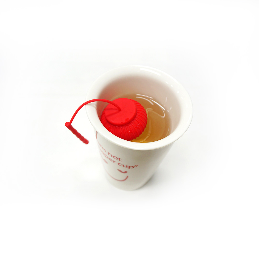 Lantern Tea bag silicone tea strainer ball custom logo tea infuser