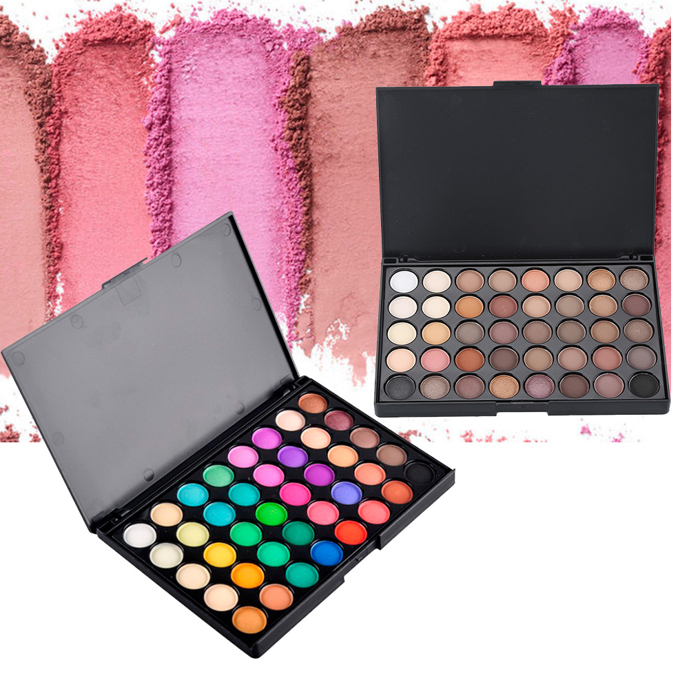 Private label eyeshadow palette 40 colors makeup tool cosmetics wholesale lots