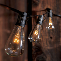 10sockets Outdoor WaterProof Commercial Patio Industrial feit electric string lights