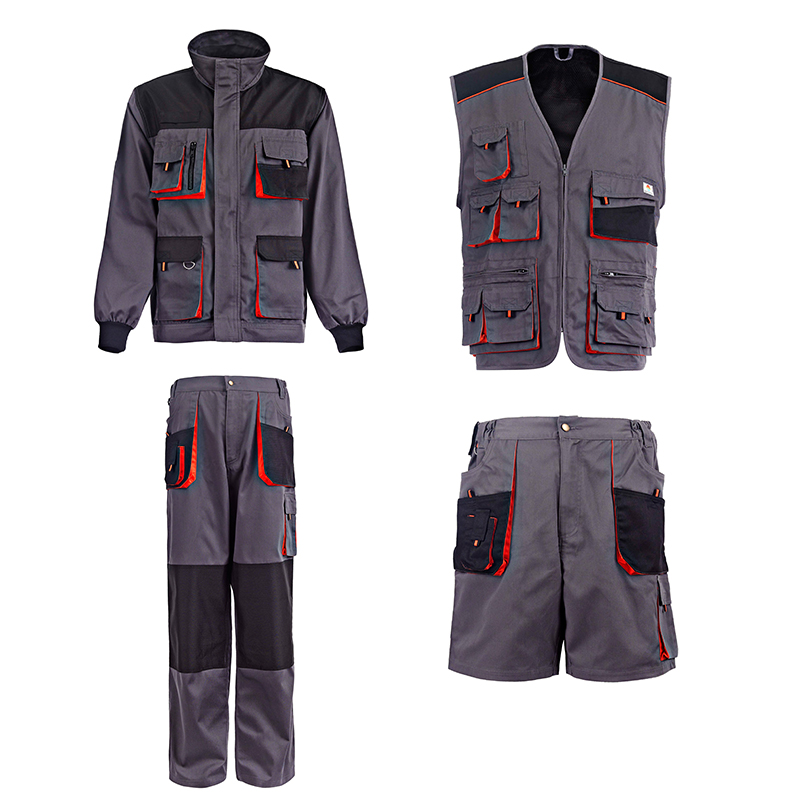 Gold Source Multi Pocket Work Clothes Uniform Construction Workwear
