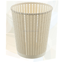 New design beautiful plastic mini round trash can garbage can Waste Bins for home