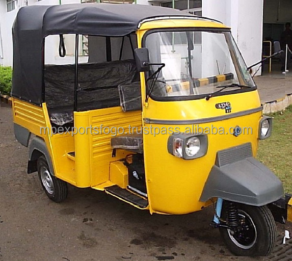USED TRICYCLE THREE WHEELER TUK TUK EXPORTERS