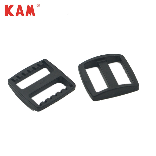 Cheap custom size fashion plastic black belt buckles wholesale
