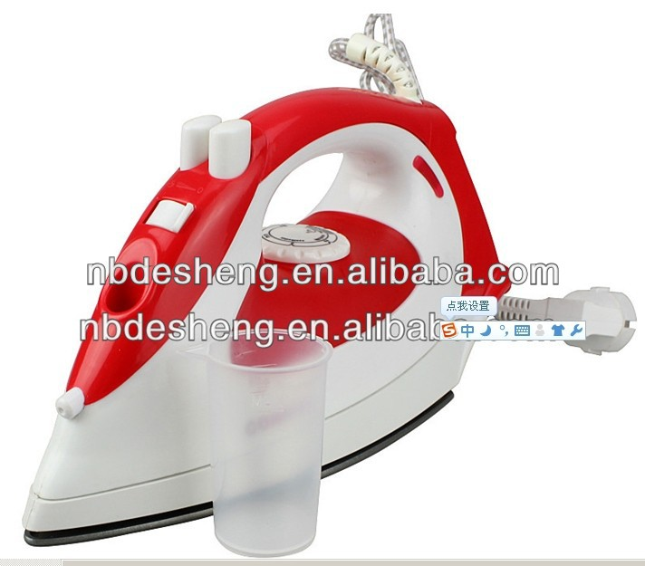 2014 new types of heavy duty electric steam iron
