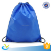 high quality customized plastic drawstring backpack bag