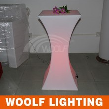 modern bar counter set led &led round bar counters design& bar table