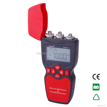 3-in-1 fiber multimeter / optical power meter / light source / visual fault locator