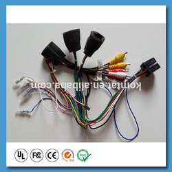 Car stereo wire harness fpr car audio system