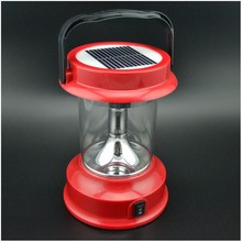 Energy saving lamp poly panel electric solar led rechargeable lantern
