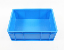 top quality logistic industry transparent strong plastic tote crate/container