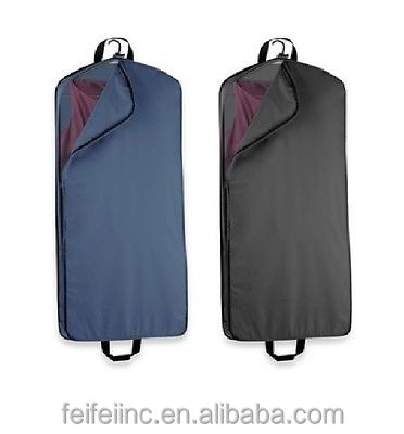 "MENS 54"" CLOTHES SUIT COVER FOLDABLE GARMENT BAG"