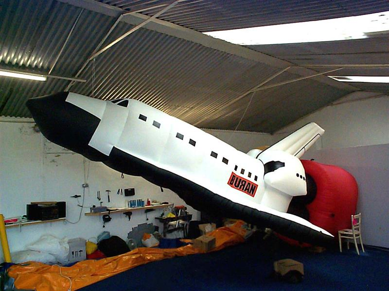 inflatable giant advertising space ship / Space Shuttle for sale