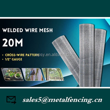 "Galvanised Welded Wire Mesh 1/2"" x 1/2"" x 36"" x 30m 22 gauge Aviary Cage Birds small animals Rabbit Cage Wire Mesh fence"